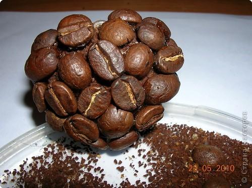 Декор предметов: Кофейный аромат. Валентинов день. Фото 3
