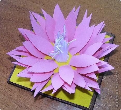 Бумагопластика: Розовая Лилия