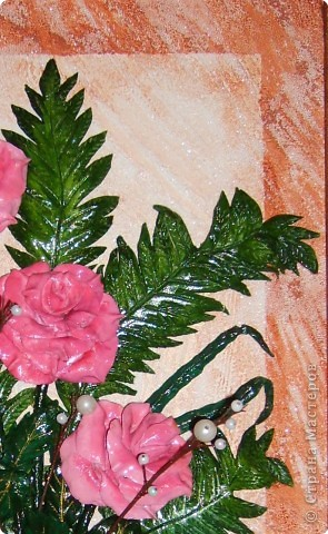 Мастер-класс Лепка: МК.листочек для оформления букета в моих картинах Тесто соленое. Фото 1