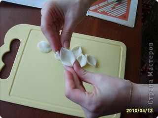Мастер-класс Лепка: МК-анютины глазки из соленого теста Тесто соленое. Фото 10