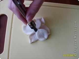 Мастер-класс Лепка: МК-анютины глазки из соленого теста Тесто соленое. Фото 14