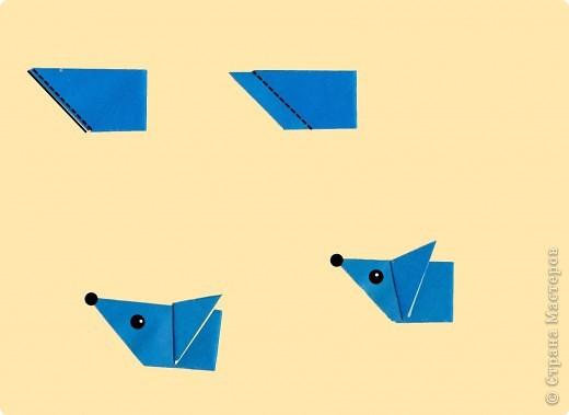 Мишка из бумаги схема