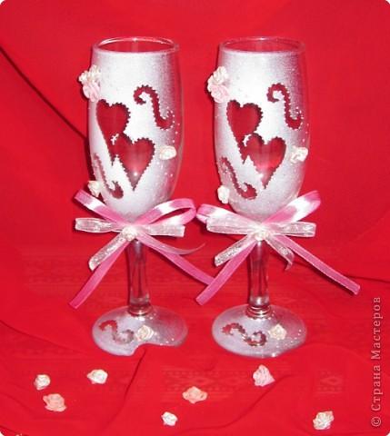 Трафареты для декора бокалов на свадьбу