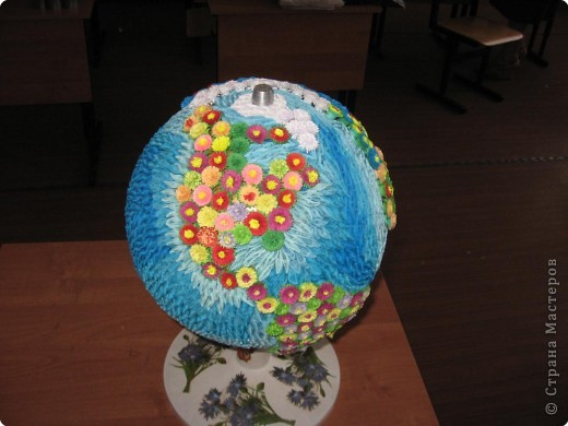 Поделка глобус квиллинг