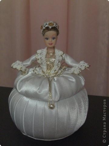 Сделать куклу шкатулку своими руками фото