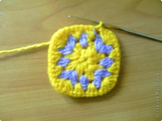 Мастер-класс,  Вязание крючком, : МК тапочки домашние  Нитки . Фото 9