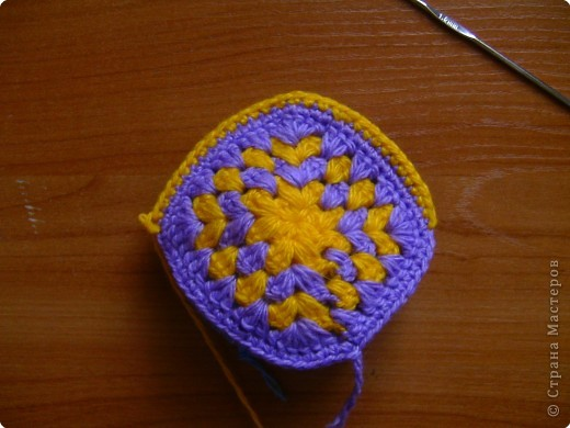 Мастер-класс,  Вязание крючком, : МК тапочки домашние  Нитки . Фото 11