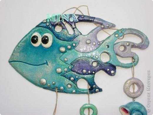 Поделка, изделие Лепка: Рыбки, рыбоньки, рыбешки ! - 5 Тесто соленое. Фото 2