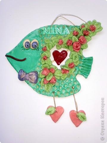 Поделка, изделие Лепка: Рыбки, рыбоньки, рыбешки ! - 5 Тесто соленое. Фото 4