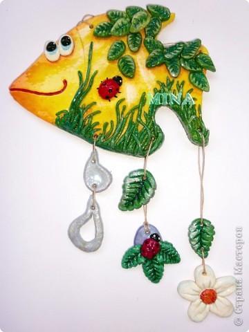 Поделка, изделие Лепка: Рыбки, рыбоньки, рыбешки ! - 5 Тесто соленое. Фото 6