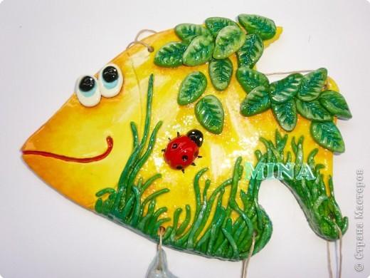 Поделка, изделие Лепка: Рыбки, рыбоньки, рыбешки ! - 5 Тесто соленое. Фото 7