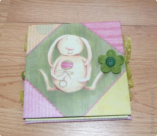 Мастер-класс, Скрапбукинг,  : МК: детский  миниальбом Бумага . Фото 1