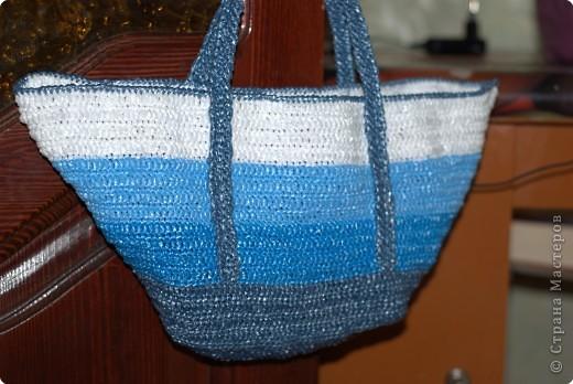 сумки из пакетов для мусора - Узоры.