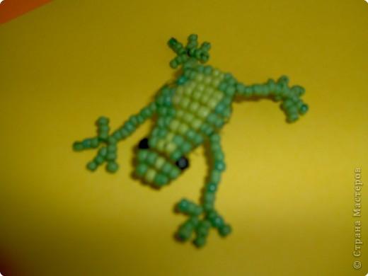 Бисероплетение: Лягушка