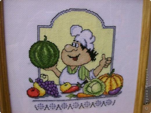 схема вышивки кулинарный