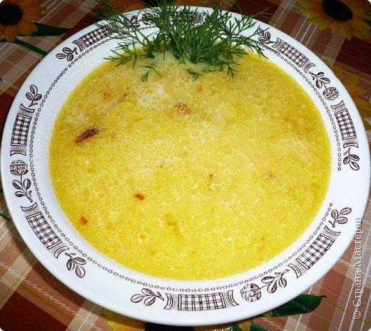 Рецепт кулинарный: Сырный супчик