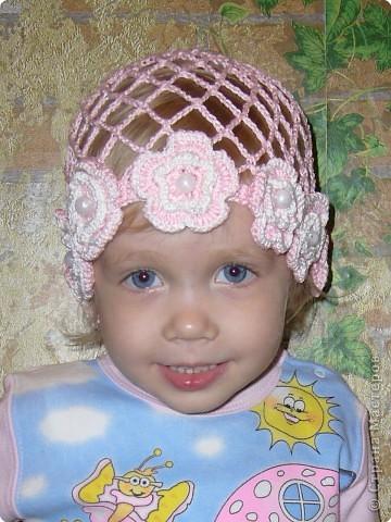 Вязание крючком: Летние шапочки Пряжа