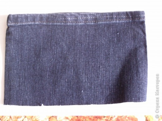 Мастер-класс Вырезание: Цветок из джинса + МК Ткань. Фото 2