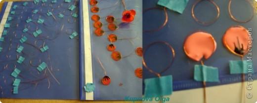 Мастер-класс Витраж: Витражные цветы МК Проволока. Фото 3
