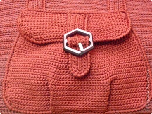 Украшение Вязание крючком: сумки вязаные крючком Нитки.  Фото 4.