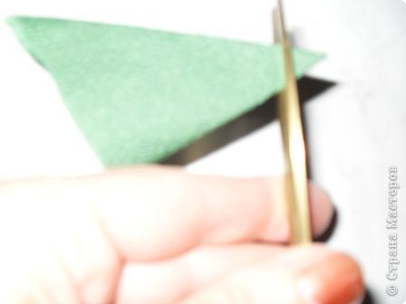 Мастер-класс, Поделка, изделие Бумагопластика, Гофротрубочки: Дерево из роз и маленький МК Салфетки. Фото 11