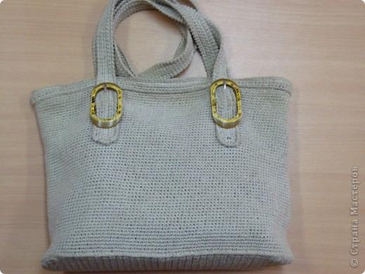 Украшение Вязание крючком: сумки вязаные крючком Нитки.  Фото 2.