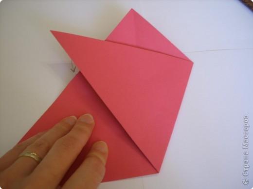Мастер-класс Оригами: Пионы МК Бумага. Фото 12