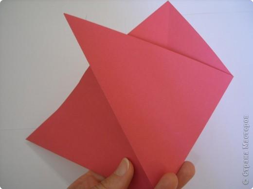 Мастер-класс Оригами: Пионы МК Бумага. Фото 13