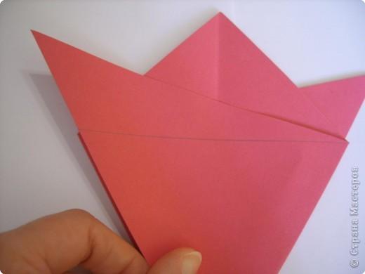 Мастер-класс Оригами: Пионы МК Бумага. Фото 15
