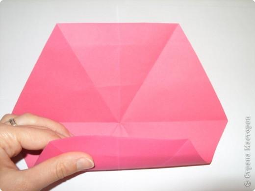 Мастер-класс Оригами: Пионы МК Бумага. Фото 19