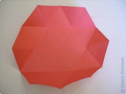 Мастер-класс Оригами: Пионы МК Бумага. Фото 20