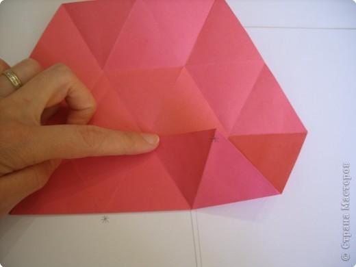 Мастер-класс Оригами: Пионы МК Бумага. Фото 22