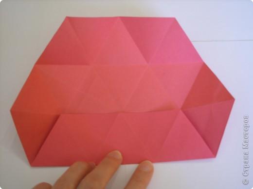 Мастер-класс Оригами: Пионы МК Бумага. Фото 21