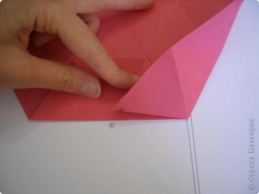 Мастер-класс Оригами: Пионы МК Бумага. Фото 23