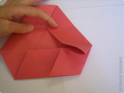 Мастер-класс Оригами: Пионы МК Бумага. Фото 24