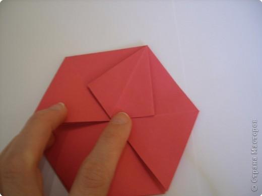 Мастер-класс Оригами: Пионы МК Бумага. Фото 27