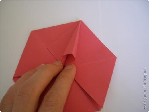Мастер-класс Оригами: Пионы МК Бумага. Фото 28