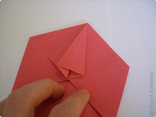 Мастер-класс Оригами: Пионы МК Бумага. Фото 29