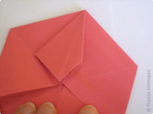 Мастер-класс Оригами: Пионы МК Бумага. Фото 32