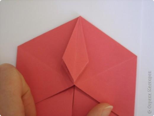 Мастер-класс Оригами: Пионы МК Бумага. Фото 33