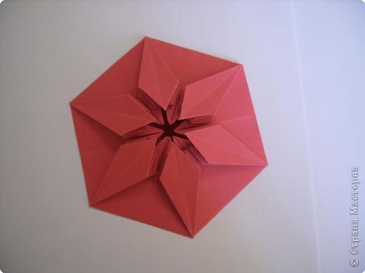 Мастер-класс Оригами: Пионы МК Бумага. Фото 34