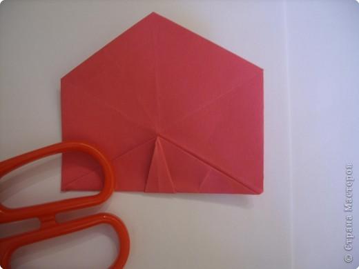Мастер-класс Оригами: Пионы МК Бумага. Фото 36