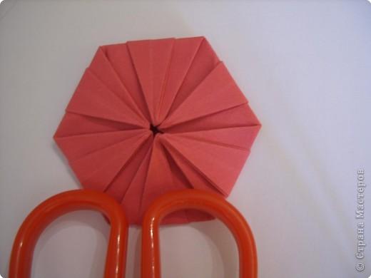 Мастер-класс Оригами: Пионы МК Бумага. Фото 37
