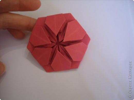 Мастер-класс Оригами: Пионы МК Бумага. Фото 38