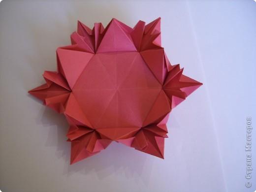 Мастер-класс Оригами: Пионы МК Бумага. Фото 40