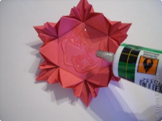 Мастер-класс Оригами: Пионы МК Бумага. Фото 42