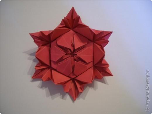 Мастер-класс Оригами: Пионы МК Бумага. Фото 43