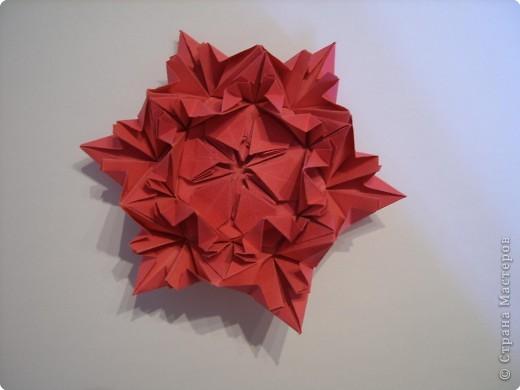 Мастер-класс Оригами: Пионы МК Бумага. Фото 44