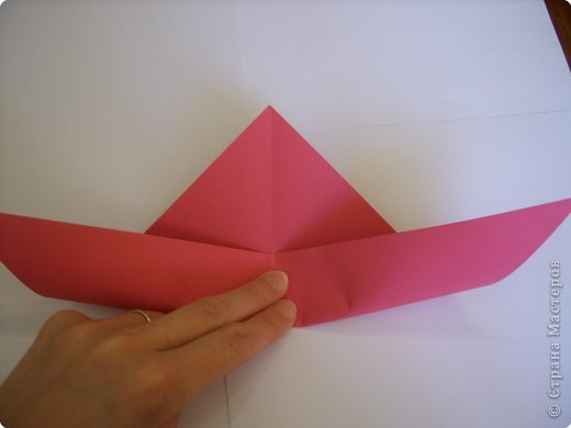 Мастер-класс Оригами: Пионы МК Бумага. Фото 9