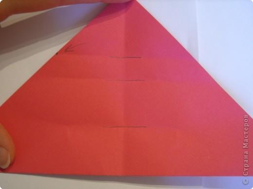 Мастер-класс Оригами: Пионы МК Бумага. Фото 11